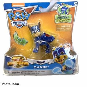 """Nickelodeon Paw Patrol Mighty Paws Chase """"NEW"""""""
